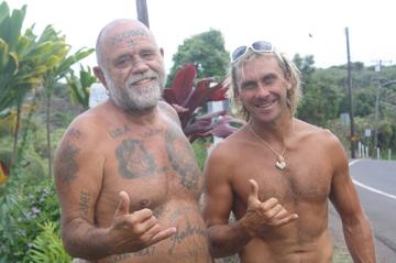 Lokalny surfer-Maui