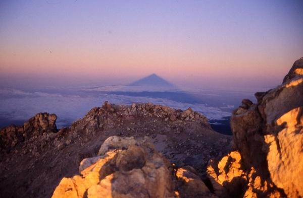 Wschód słońca na Pico de Teide, Teneryfa