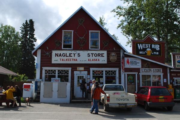 Jedyny sklep w Talkeetnie i jednocześnie siedziba burmistrza :)