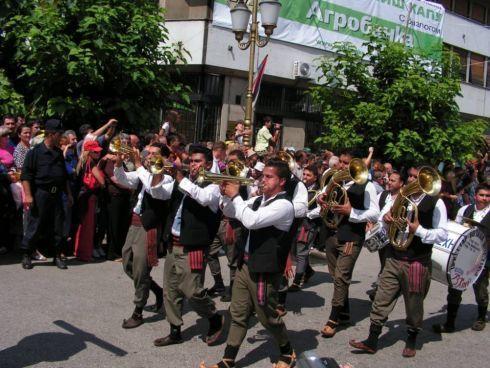 Festiwal trąbki w Gučy
