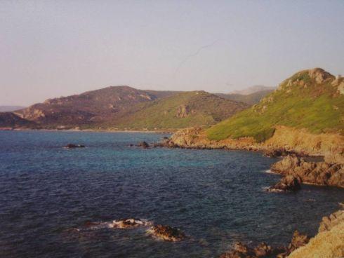 Korsykańskie wybrzeże