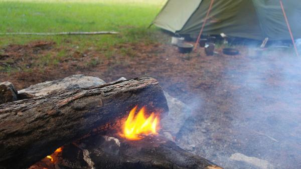 Nasz obóz w Uzury