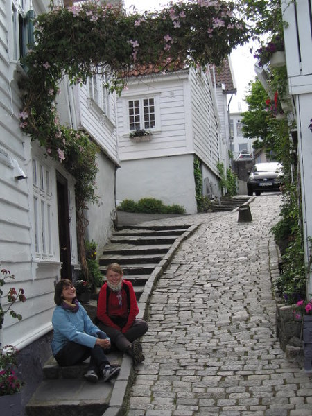 Urokliwe uliczki Gamle, Stavanger