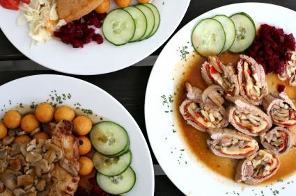Tradycyjny czeski posiłek