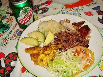 typowe danie kubańskie