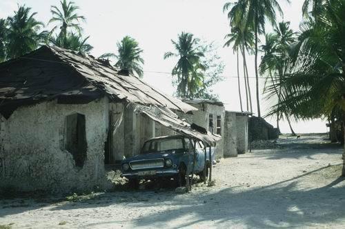Wszechobecna bieda na Zanzibarze