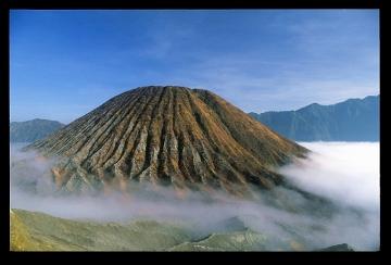 Wulkan Gunung Batok 2440 m n.p.m, INDONEZJA