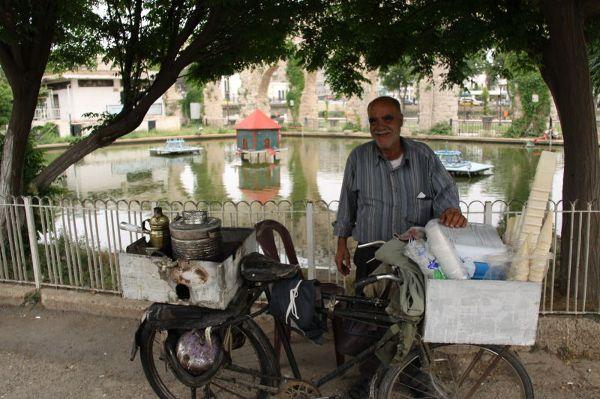 Lodziarnio-kawiarnia na rowerze