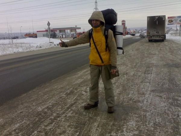 Rosyjskie drogi mogą okazać się nie lada wyzwaniem. A już szczególnie zimą!