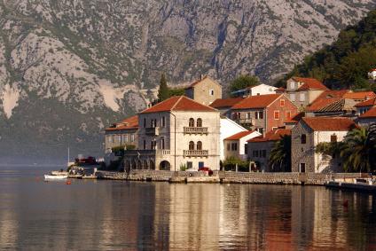Miasto Perast nad Zatoką Kotorską