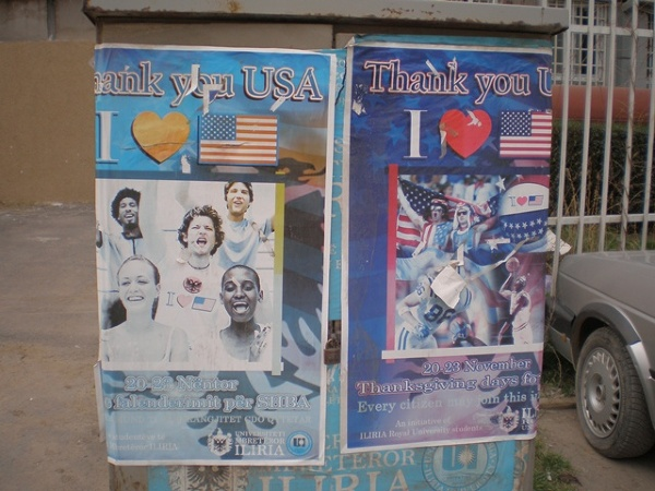 Prisztina - Thank you USA
