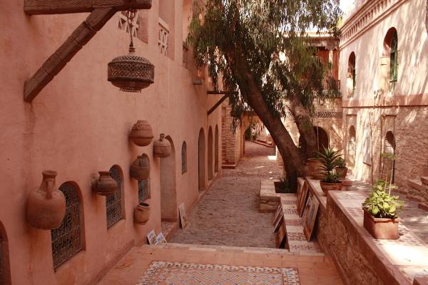 Typowa uliczka w Agadirze
