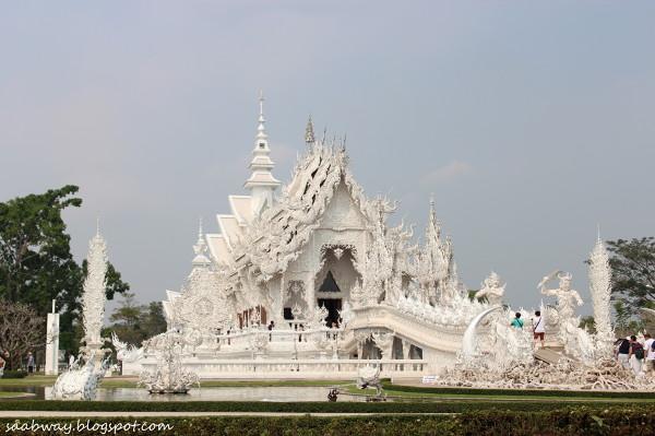 Biała Świątynia w Chiang Rai.