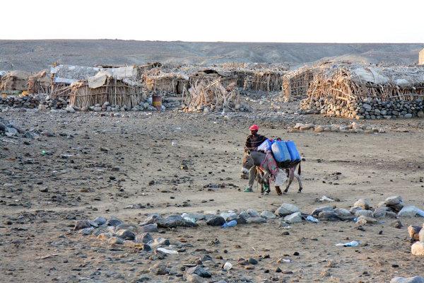 Mężczyzna z wioski Hamed Ela