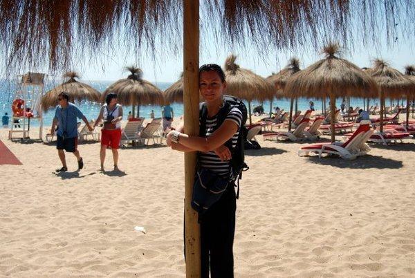 Słoneczne plażowanie w Vina del Mar