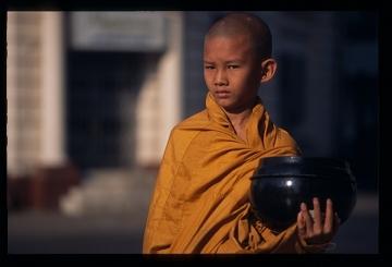 Śramanera - buddyjski mnich nowicjusz, BIRMA