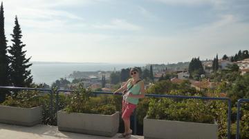 Słoweński Portorož kusi ciepłym morzem i wspaniałymi widokami.