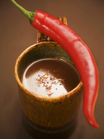 Gorąca czekolada z chili.