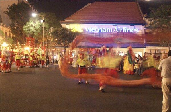 Parada z okazji święta Tet