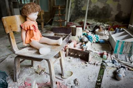 Czarnobyl tuż po katastrofie