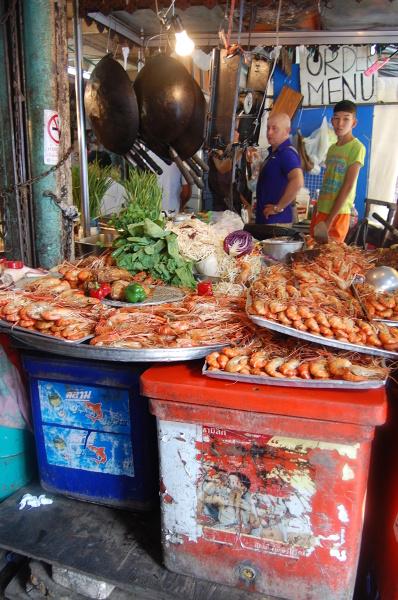 Uliczna garkuchnia w Chinatown