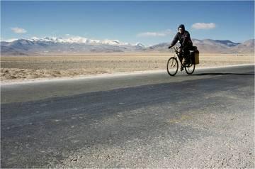 Rowerem przez Himalaje