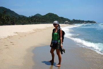 Piękne karaibskie plaże Kolumbii