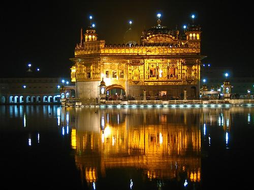 Złota świątynia w Amristarze