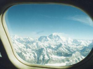 Himalaje – widok z samolotu