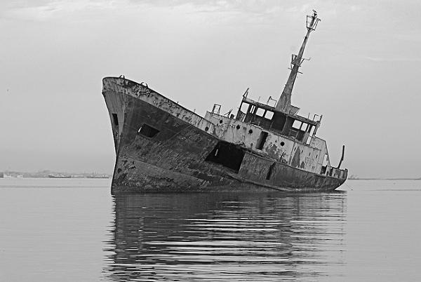 Cmentarzysko statków w Mauretanii – pogrzebane?