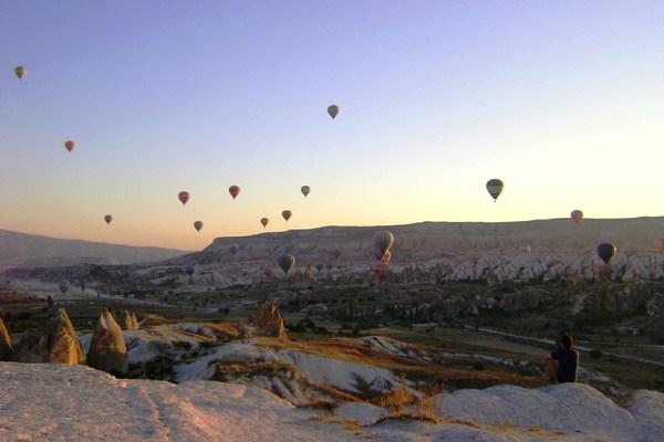 Kapadocja - przyśniły nam się latające o wschodzie słońca balony