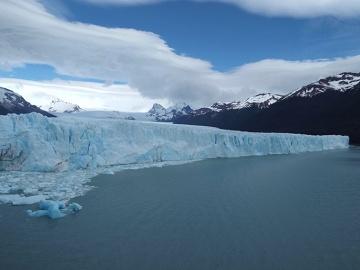 Perito Moreno - jego zimnośc lodowiec