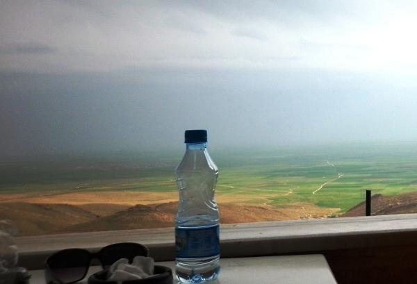 Mardin - kawiarenka z widokiem na Mezopotamię
