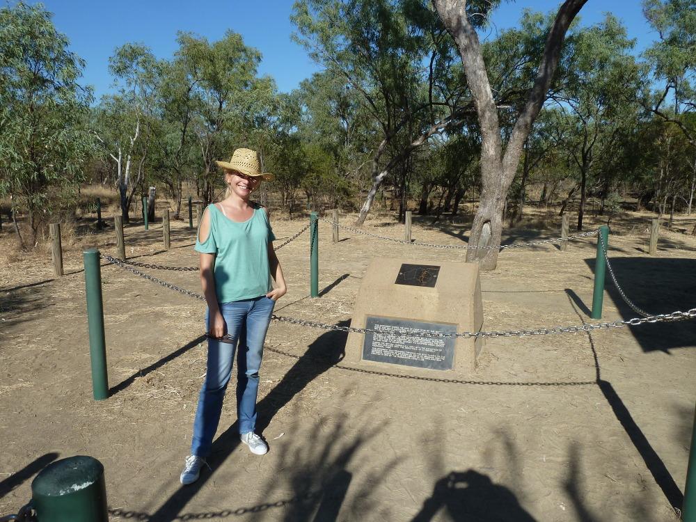Blondynka na Antypodach wyjeżdża w australijski outback – część 3 – obóz Burke'a i Wills'a nr 119
