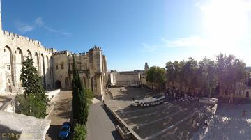 Urzekające i majestatyczne Avignon.