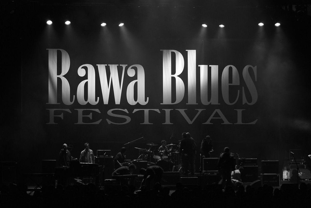 28 Edycja Rawa blues Festival, Katowice Spodek - przerwa techniczna