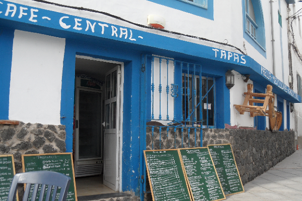Bar tapas w El Cotillo, Fuerteventura, Wyspy Kanaryjskie