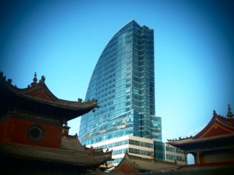 Blue sky tower.
