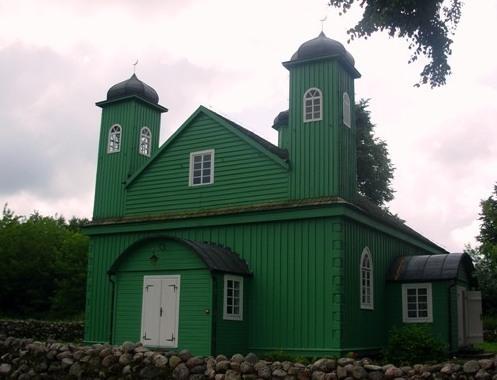 Meczet w Kruszynianach, jeden z czterech istniejących w Polsce