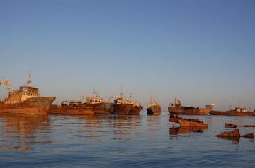 Wraki statków u wybrzeży Nouadhibbou