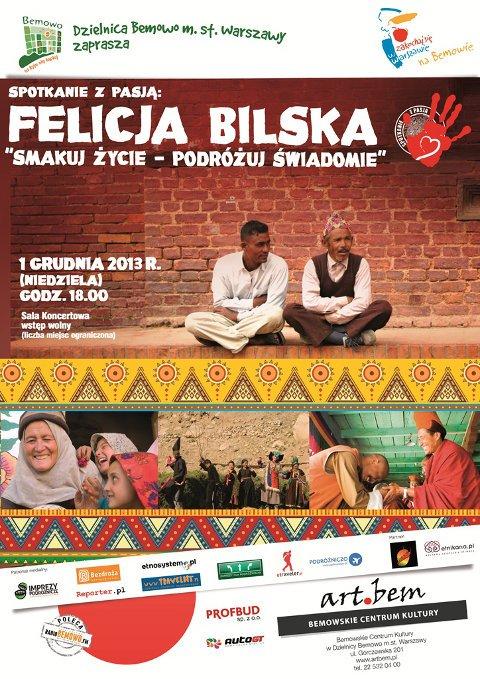 """Spotkanie z pasją: Felicja Bilska """"Smakuj życie – podróżuj świadomie"""""""
