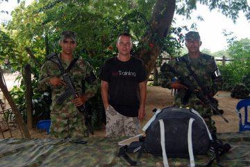 Codzienność w Kolumbii – wojskowa rewizja