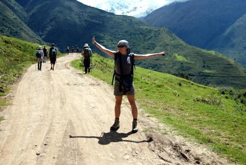 Pierwszy dzień trekkingu do Machu Picchu