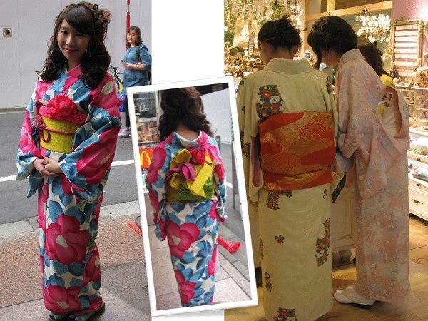 Tokijki w kimonie