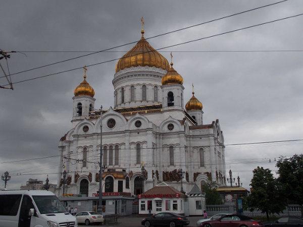 Jedna z największych cerkwi prawosławnych w Moskwie