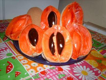 mamey - bardzo słodki owoc