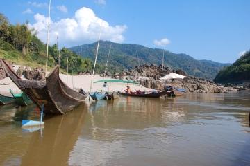 Laos - Speed Boat