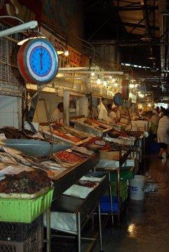 Słynne Mercado de Mariscos