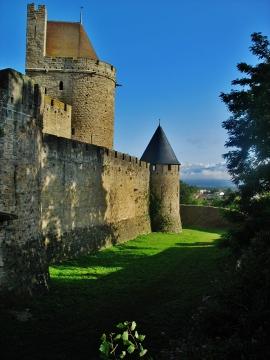 Carcassonne w piękny lipcowy dzień