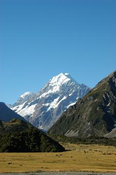 Między latem a zimą - Mt Cook
